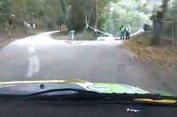Rally nehoda po špatné navigaci