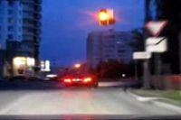 Ruské ilegální závody ve městě