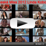 Finalistka Česká Miss 2012 Linda Kobosilová při hromadném sexu