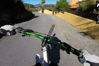Downhill po zadním kole