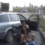 České sex – vyšuká cigánku na benzínce za peníze